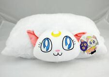 Sailor Moon Happy Cuddle White Luna Cushion Toy Transforming Soft Cute Pillow