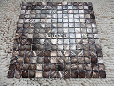 Coffee shell mosaic mother of pearl kitchen backsplash bathroom wall shower tile
