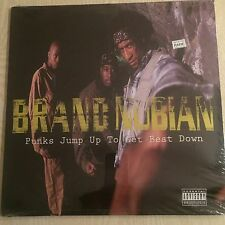 "BRAND NUBIAN -  Punks Jump Up to Get Beat Down -1992 vinyl 12"" SEALED original"