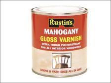 Rustins ruspvgap500 Poliuretano Barniz y Mancha Brillo Pino Antiguo 500 ml