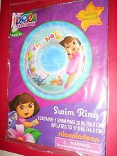 "Dora The Explorer 20"" Swim Ring Inflatable Brand New"