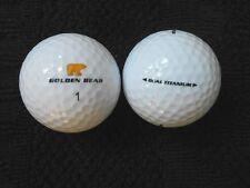 "10 NICKLAUS  ""GOLDEN BEAR"" - DUAL TITANIUM - Golf Balls - ""MINT/PEARL"" Grades."