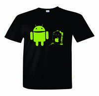 Android T-Shirt R.I.P. Nerd/Computer Geek Cell Phone S-2XL