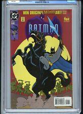 Batman Adventures #17 CGC 9.8 White Pages 1994