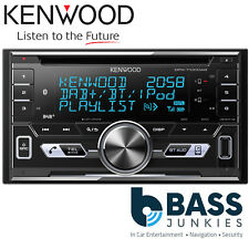Kenwood DPX-7100DAB Double Din Bluetooth DAB+ AUX USB iPhone Android Car Stereo