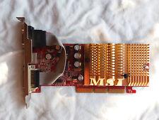 MSI NVIDIA GeForce NX6200AX-TD128LF, 128MB DDR, 64 Bit, DX 9.0c, AGP 8x