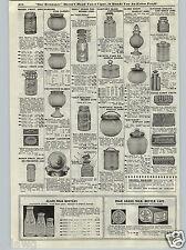 1917 PAPER AD Ball Mason Ideal Kerr Self Sealing Improved Canning Jars Fruit