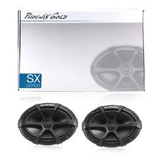 "Phoenix Gold SX69CX 180W Coaxial Speakers 6x9"" Inches Car Audio 90W RMS"