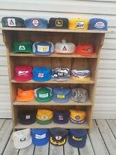 Vintage Trucker Hat Lot 25 Patch Snapback Caps K Brand/Product Louisville & More