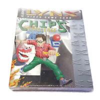 Chip's Challenge Atari Lynx Game NEW in Box 1989 RARE NIB Factory Sealed