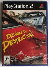 Sony PlayStation 2 Ps2 Driven to Destruction Atari Video Game