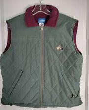 VTG Miller's Harness Company Vest Equestrian Fleece lined Quilted SZ MED Women's
