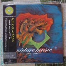Klaus Schulze - Japan Mini LP CD - Picture Music '75 Krautrock Ash Ra ARC-7267