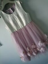 Monsoon girl party ocassion wedding dress 10 years great condition stunning