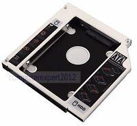 SATA 2nd Hard Drive HD SSD Caddy for Toshiba Satellite L730 L755 P750 P750D P755