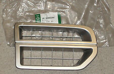 Land Rover Discovery 3 Air Inlet Grille Bright Finish Part Number JAK000065MMM