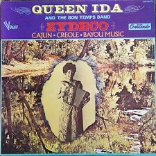 QUEEN IDA Zydeco FR Press Vogue GNY 28073 1976 LP