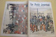 Le petit journal 1895 226 militaires caserne + duel épée mort harry alis