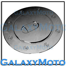 07-15 TOYOTA TUNDRA CREW MAX Black Chrome Plated ABS Gas Door Fuel Cap Cover