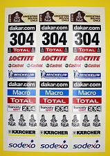 RC DAKAR 2014 Rock Crawler Stickers Decals Tamiya DF-01