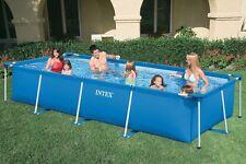 Intex FAMIGLIA CORPO Rettangolo pool. 450X220X84 CM.28273 + filtro sabbia 4 m ³+