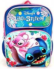 """Backpack - Disney - Lilo and Stitch Playing 16"""" New 100179"""