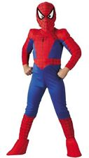 Spiderman Child Marvel Classic Royal Bl & Rd 5Pc Deluxe Muscle Chest Costume MD