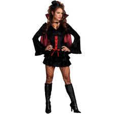 Womens Bella Vamp Costume Ladies Halloween Sexy Vampire Fancy Dress Costume