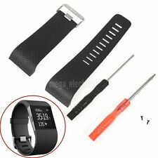 Large Replacement Strap Band Wristband + Tool For Fitbit Surge Activity Tracker