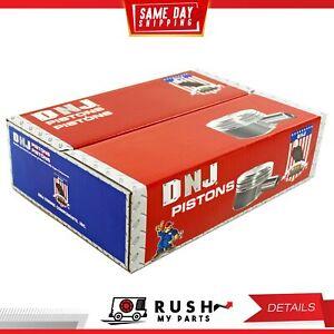 DNJ P810 Std. size Compl. Piston Set For 98-05 Audi Volkswagen A4 2.8L DOHC 30v