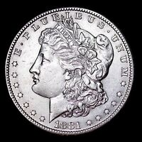 RANDOM DATE 1878-1904 $1 MORGAN SILVER DOLLAR - ALMOST UNCIRCULATED CONDITION!