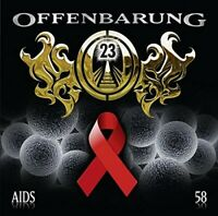 PETER FLECHTNER - CATHERINE FIBONACCI: OFFENBARUNG 23, FOLGE 58: AIDS  CD NEW