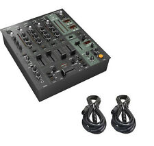 BEHRINGER DJX900USB 5-Channel Mixer w/ USB, BPM, Effects & 2 XLR Cables -NEW-