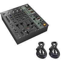 Behringer DJX900USB 5-Kanal Mixer mit USB, BPM, Effekte und 2 XLR Kabel-NEU -