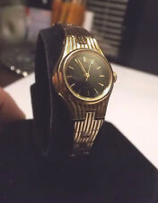 """Petite Womens Pulsar Golden Watch V811-0790 with New Battery. Fits 6 1/2"""" Wrist"""