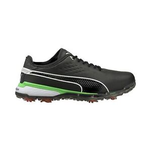 Puma Mens PROADAPT DELTA X Golf Shoes - Puma Black/Irish Green - New 2021