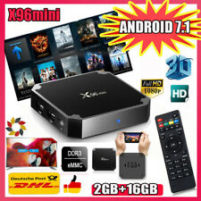 2+16Go X96mini Smart TV BOX Android 7.1 S-905W Quad Core 4K HDR Ethernet Mini PC
