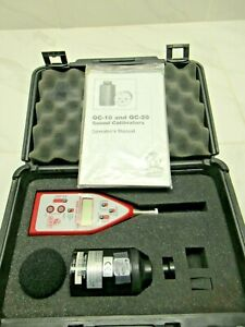 Quest Tech 2200 Integrating Averaging Sound Level Meter, w QC-10 Calibrator