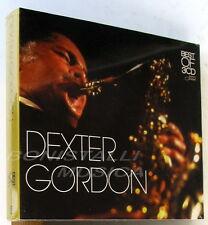 DEXTER GORDON - BEST OF 3 CD Box Sigillato - Blue Note