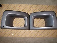 Chevy GMC Topkick Kodiak Left and Right Headlight Bezels OEM Genuine 2003-2009