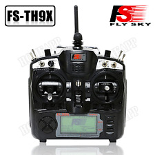 FS-TH9X 2.4G 9CH Radio Control Transmitter & Receiver for RC Helicopter Airplane