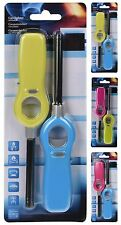 Lot de 2 refillable gas lighter candle lighter bbq camping cuisinière caravane bateau