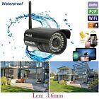 720P HD Wireless WiFi Outdoor IP Webcam IR Network CCTV Security Camera