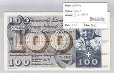 BILLET SUISSE - 100 FRANCS - 5-1-1970