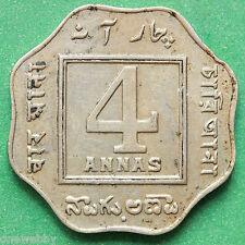 1921 India 4 Annas SNo28152