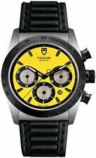 NUOVO SCONTATO Tudor Fastrider Chrono Giallo Dial Uomo Watch M42010N-0002