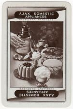 Playing Cards 1 Swap Card Vintage AJAX DOMESTIC APPLIANCES Afternoon Teatime AD