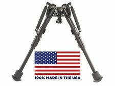 Heavy Duty Ultralight Bipod Bench Rest Extends From 6 to 9 Inches by Harris