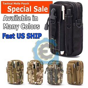 Tactical Molle Pouch EDC Belt Waist Fanny Military Waist Bags Pack Bag Pocket