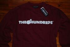 NEW Men's The Hundreds Adam Bomb Dark Red Sweatshirt (X-Large)